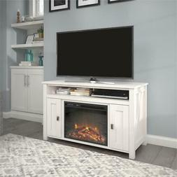 farmington electric fireplace tv console up to