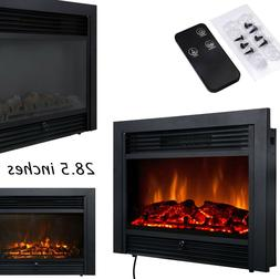 Faux Fireplace Electric Fireplace Insert 28.5 Inch Fake Flam