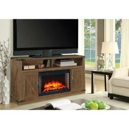Fireplace Fire Place Heater TV Stand 48 Inch Freestanding El