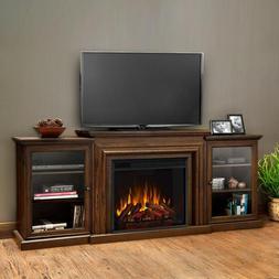 frederick 72 electric fireplace entertainment center chestnu
