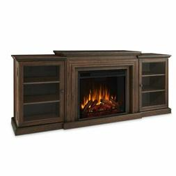 Real Flame Frederick Entertainment Electric Fireplace in Che