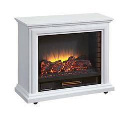 Pleasant Hearth GLF-5002-50 Sheridan Mobile Fireplace - Whit