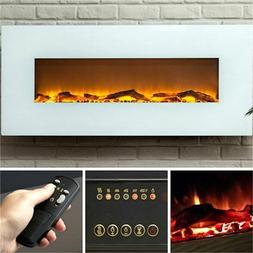 Ivory 50 Electric Wall Mounted Fireplace