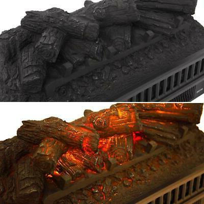 """1400W 23"""" Electric Fireplace Logs"""