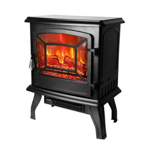 1400W Free Standing Fire Stove
