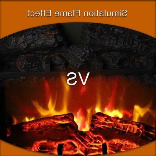 1400W Adjust Free Standing Heater Fire