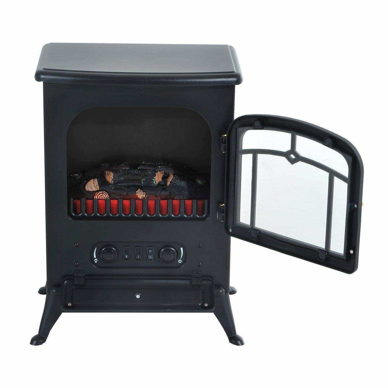 Indoor Vent Free Fireplace Heater Adjustable