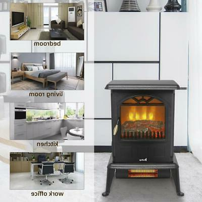 1500W Space Log Stove Free