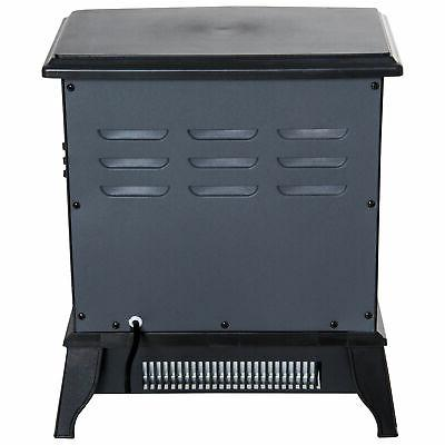 """16"""" 1500W Electric Fireplace Stove Realistic"""