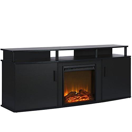 Ameriwood 1766396COM Electric TV Black
