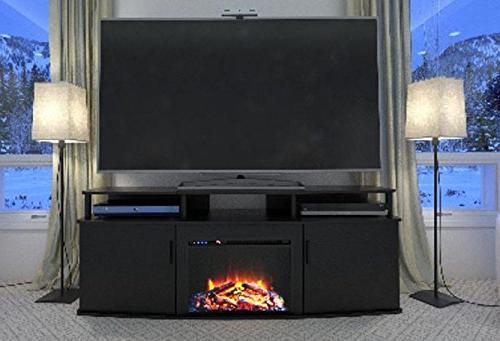 Ameriwood Electric Fireplace Black