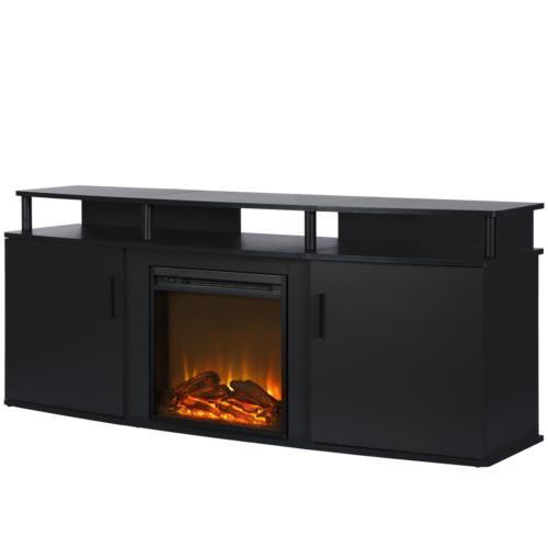 1766396com carson electric fireplace tv