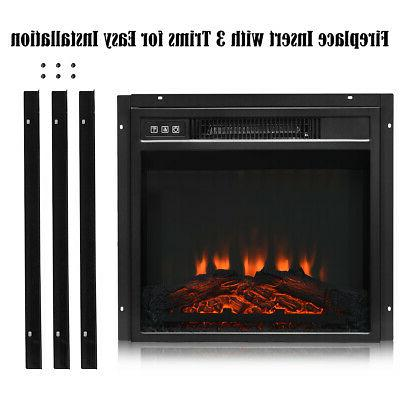 """18"""" Electric Freestanding &Wall-Mounted Heater Remote 1400W"""