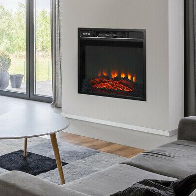 """18"""" &Wall-Mounted Flame Remote 1400W"""
