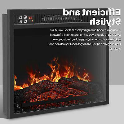 "18""Embedded Fireplace Insert 1400W"