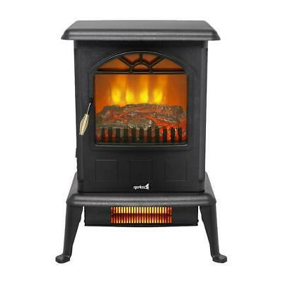 22 free standing electric fireplace space heater