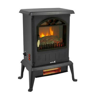 1500W Portable Space Log Flame Stove Free