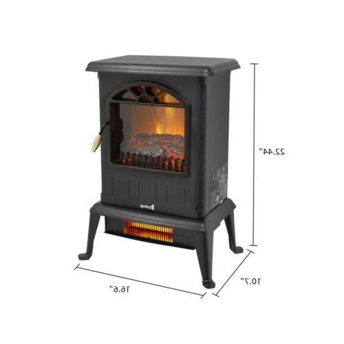 "22"" Free Fireplace Flame 1500W"