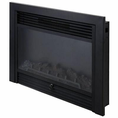 """28.5"""" Electric Embedded Insert Glass Flame"""