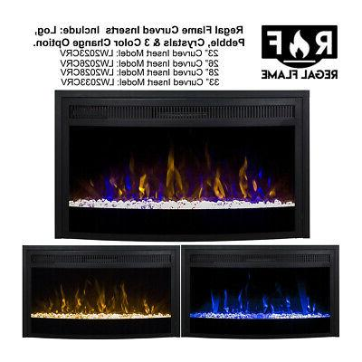 Gibson Curved Ventless Fireplace