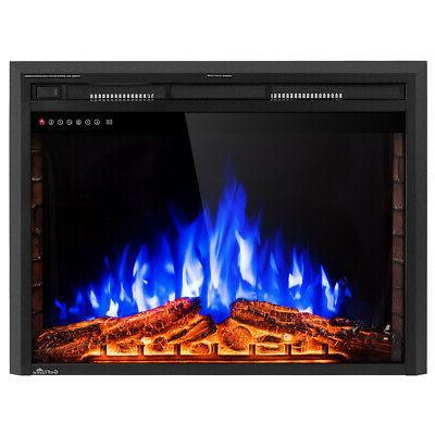 """36"""" Fireplace Insert Freestanding 750W-1500W"""