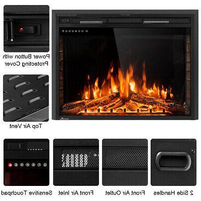 """36"""" Fireplace Freestanding 750W-1500W"""