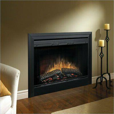 39 electric fireplace with air treatment system