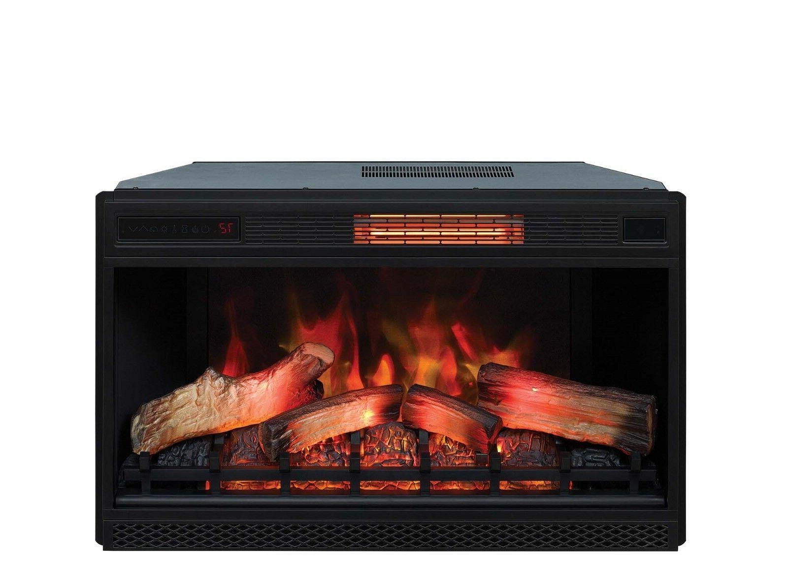 3d infrared quartz fireplace insert