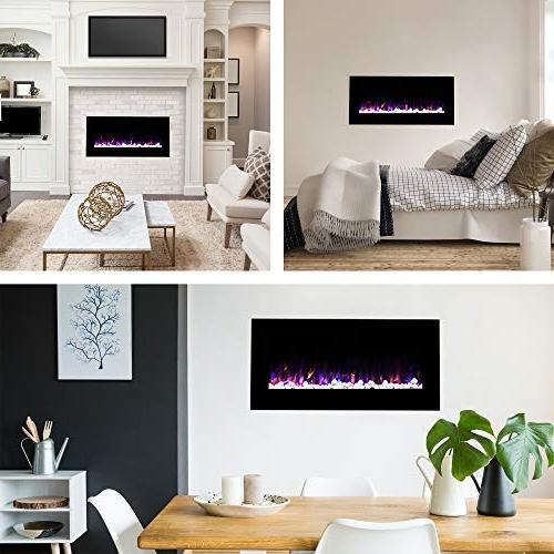 """Northwest Mounted Fire Ice Flame, 42"""""""