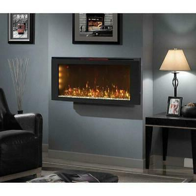 """Powerheat 42"""" Mounted Electric Fireplace with Display Stand -"""