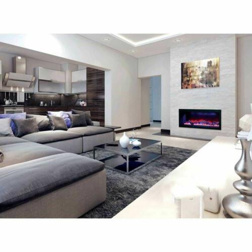 """50"""" Panorama Deep Fireplace Amantii"""