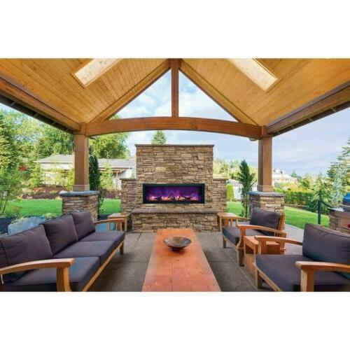 "50"" Panorama Fireplace"