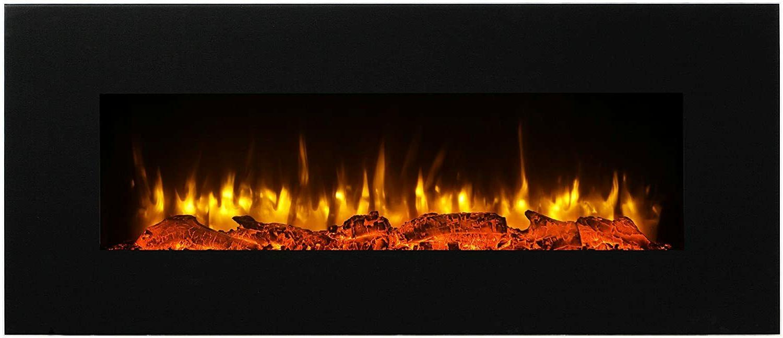 50 ultra thin electric fireplace insert wall