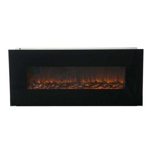 """50"""" Mounted Fireplace w/ Remote Control"""