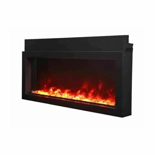 """60"""" Extra Electric Fireplace BI-60-XTRASLIM Amantii"""