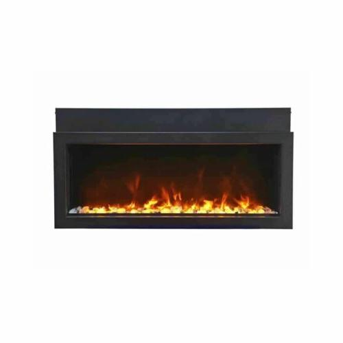 "60"" Panorama Electric Fireplace BI-60-XTRASLIM Amantii"