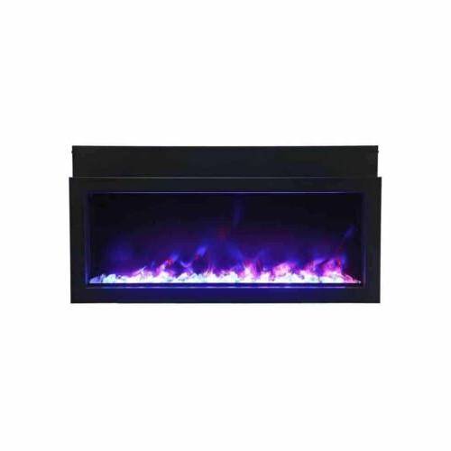 "60"" Panorama Extra Slim Electric Fireplace BI-60-XTRASLIM Amantii"