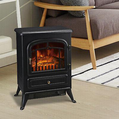750w 1500w adjust electric fireplace free standing