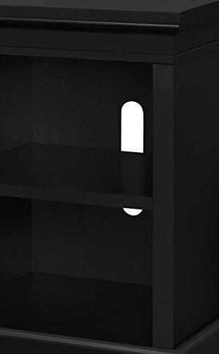 "Ameriwood Home Manchester Electric TVs 70"", Black"
