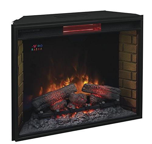 ClassicFlame 33II310GRA Quartz Fireplace Safer