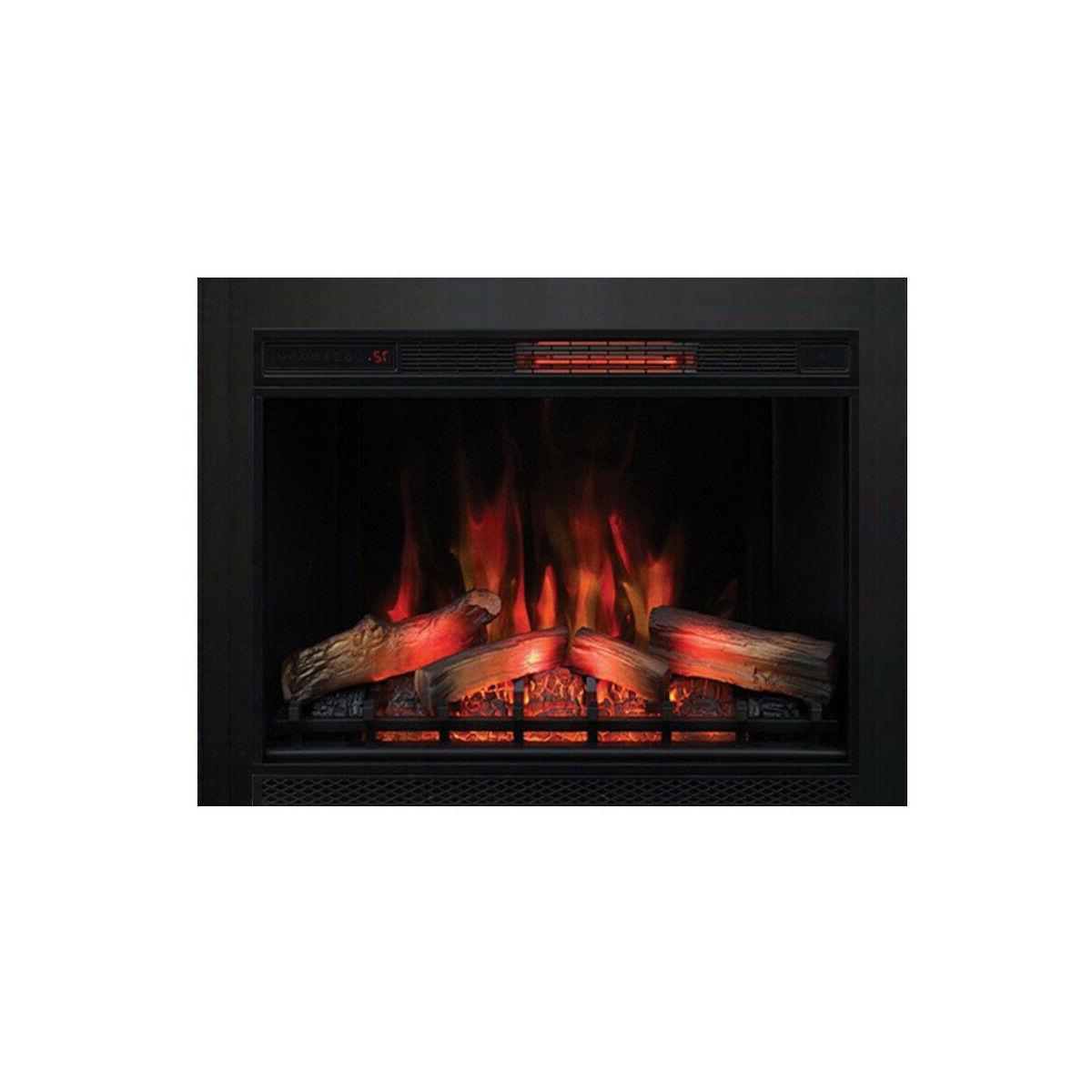 """ClassicFlame 33II310GRA 33"""" Infrared Quartz Fireplace Insert"""