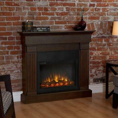 Real Flame - Crawford Slim Line Indoor Electric Fireplace -