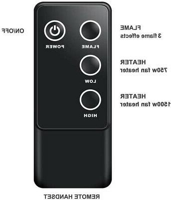 A 33 Inches Electric Insert, Remote