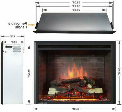 A Inches Electric Fireplace Remote