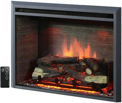 a 33 inches western electric fireplace insert