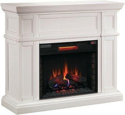 ClassicFlame White Electric Fireplace