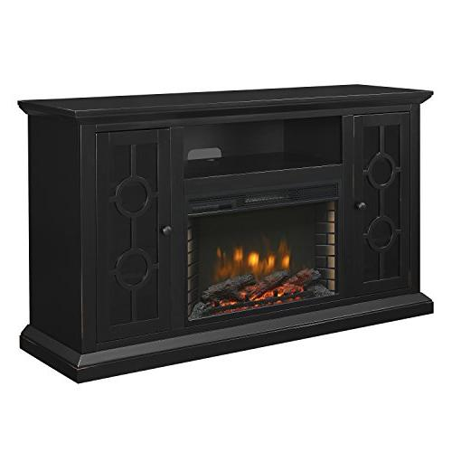 ashby media electric fireplace