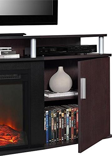 """Carson Fireplace for TVs to 70"""","""