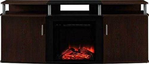 carson fireplace console