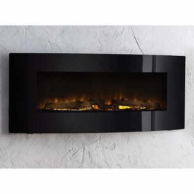 Cassie Curved Mount Fireplace, Color Options